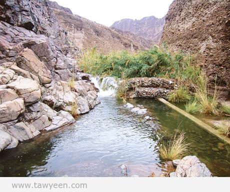 وادي الوريعة أول منطقة جبلية تتحول إلى محمية طبيعية يتوافد إليها آلاف من الزوار للاستمتاع بمياه شلالاتها وبالمناظر الخلابة