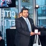 محمد بن حمد الشرقي توّجهم باحتفال أقيم في باريس .. تكريم الفائزين بجائزة الفجيرة الدولية للتصوير الصحفي