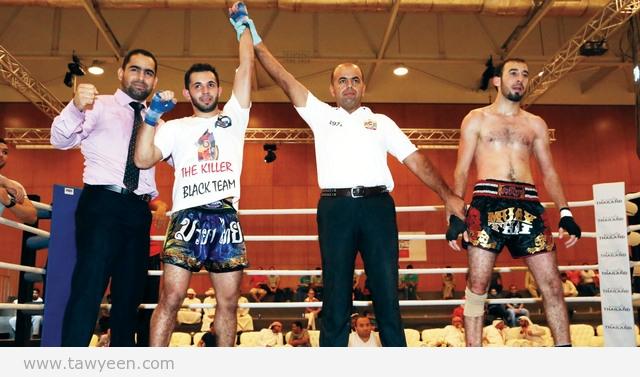 فوز أول للإمارات في الملاكمة العربية ضمن بطولات مكتوم الرمضانية بالفجيرة