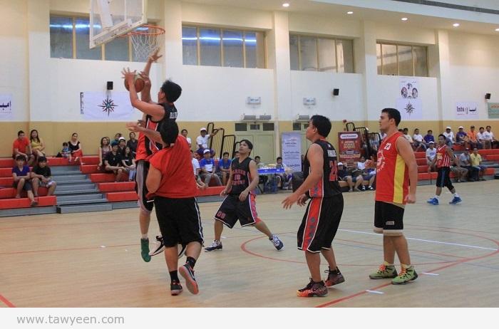 كرة السلة الإماراتية تبحث عن لقب بطولات مكتوم أمام السطوة الفلبينية