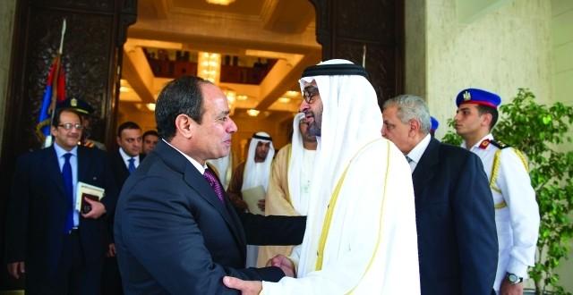 محمد بن زايد: الإمارات خير سند لمصـر حتى تنهض وتنطلق من جديد