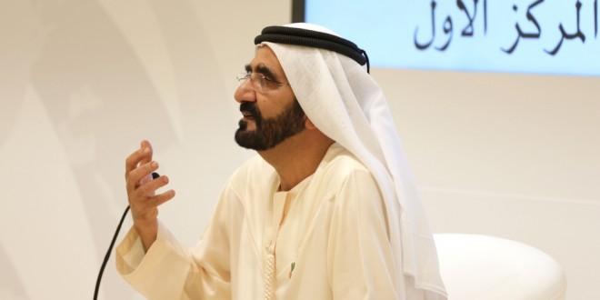محمد بن راشد يترأس جلسة عصف ذهني مع فريق عمله