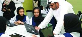 خلال جولته التفقدية في مدارس دبي والشارقة وزير التربية :آراء الطالب أساس التخطيط
