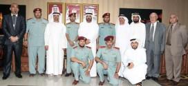 مجلس التعليم يكرم عدداً من ضباط شرطة الفجيرة
