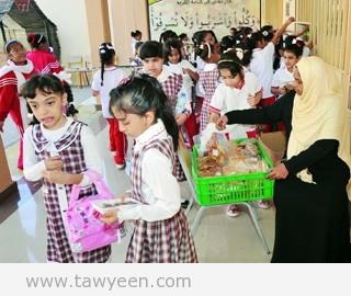 مقاصف 51 مدرسة بالفجيرة تقدم وجبات صحية لـ 15 ألف طالب