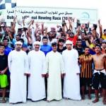 «حام 99» و «شناص 20» يعانقان ناموس التجديف..الجولة الأولى من بطولة دبي لقوارب التجديف المحلية 30 قدماً