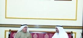 حاكم الفجيرة يستقبل السفير البريطاني وحمد المدفع