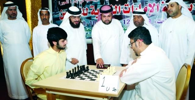 «الإمارات للشطرنج» في الفجيرة تشهد انطلاقة قوية