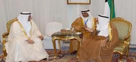 القمة العربية .. أمير دولة الكويت يلتقي حاكم الفجيرة