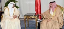 القمة العربية .. ملك البحرين يلتقي حاكم الفجيرة