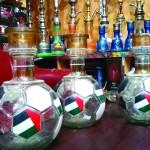 اقتصادية أم القيوين تصادر «شيش» تدخين تحمل علم الدولة
