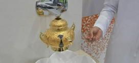 طالب يبتكر جهازاً يوفر المياه في المساجد