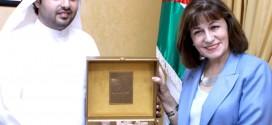 الشيخ راشد الشرقي يبحث آفاق التعاون مع وزيرة الثقافة الأردنية