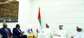 محمد بن زايد: الإمارات بقيادة خليفة تدعم التنمية والجهود الإنسانية في الصومال