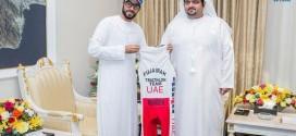 ولي عهد الفجيرة يدعم المواطن محسن آل علي المشارك في بطولة الرجل الحديدي العالمية في أميركا
