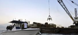 بتوجيهات ولى العهد إغراق 14 سيارة لإنشاء محمية طبيعية في مارينا الفجيرة