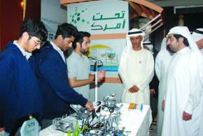راشد الشرقي يفتتح فعاليات أسبوع الإمارات للابتكار في الفجيرة