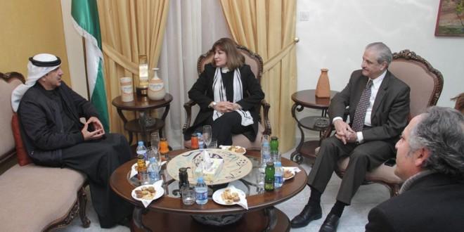 وزيرة الثقافة تلتقي مدير عام هيئة الفجيرة للثقافة والإعلام
