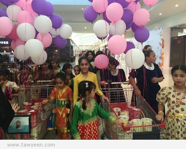 مركز فتيات الفجيرة يحتفل بليلة النصف من شعبان