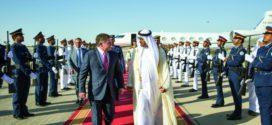 محمد بن زايد وعبدالله الثاني يبحثان سبل تعزيز الاستقرار في المنطقة