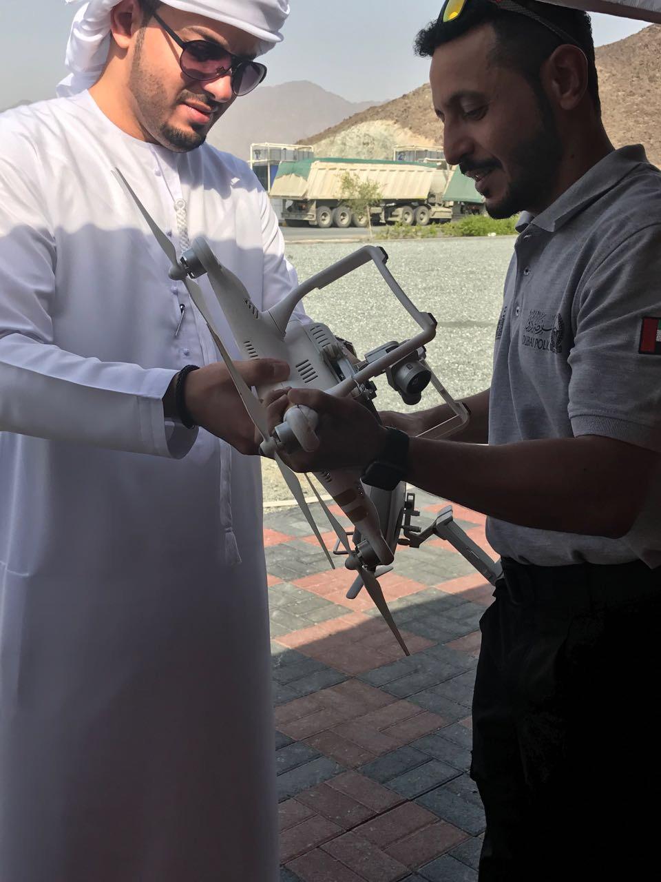 الموارد الطبيعية بالتعاون مع شرطة دبي تنظم الدورة التأسيسية ل ( الطائرات بدون طيار)