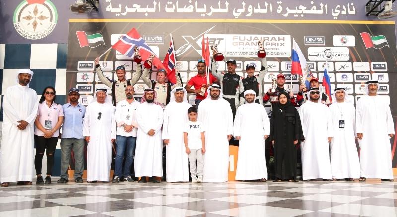 النجاح يرافق افتتاحية جولات «إكس كات» وولي عهد الفجيرة يتوّج «شرطة دبي» بطلاً للسباق الثاني