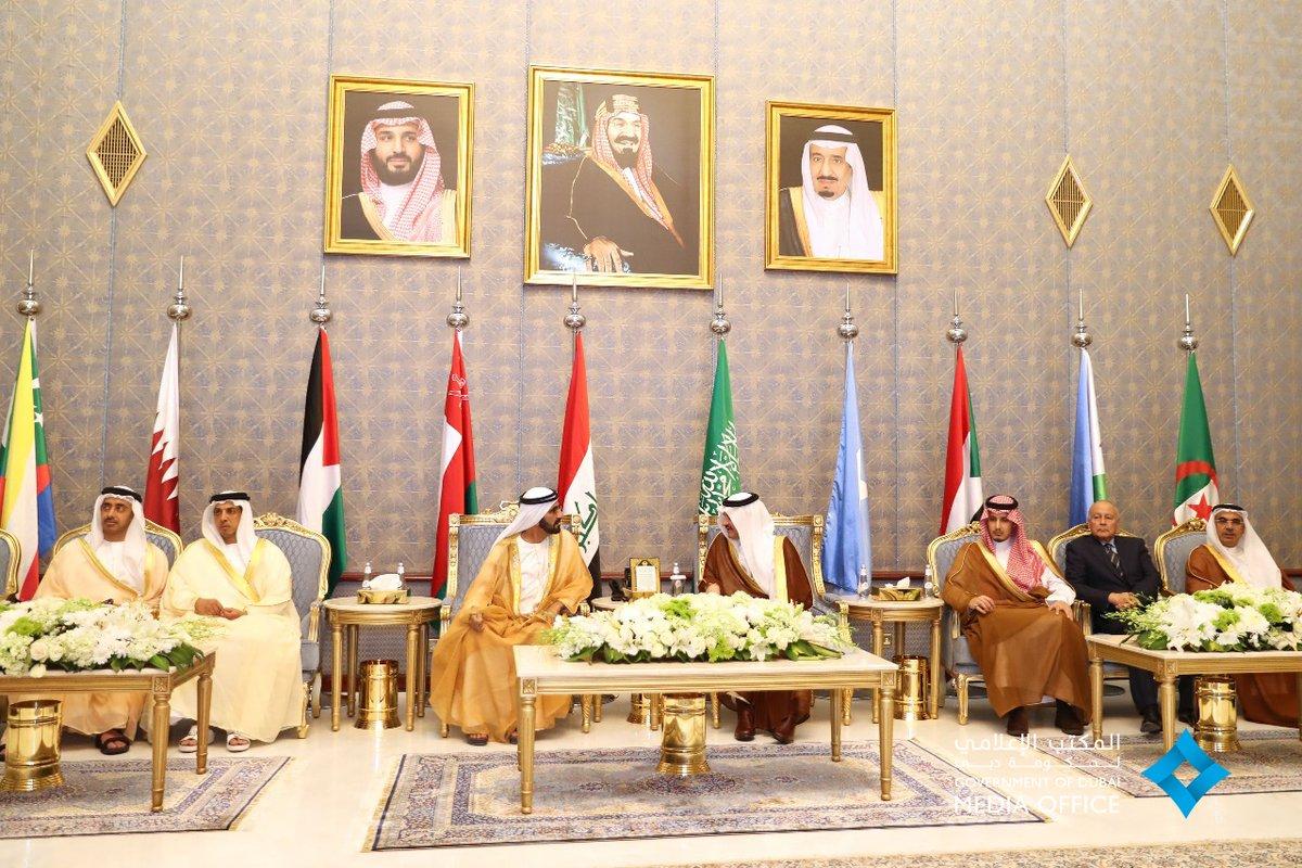 محمد بن راشد يترأس وفد الإمارات للمشاركة في القمة العربية